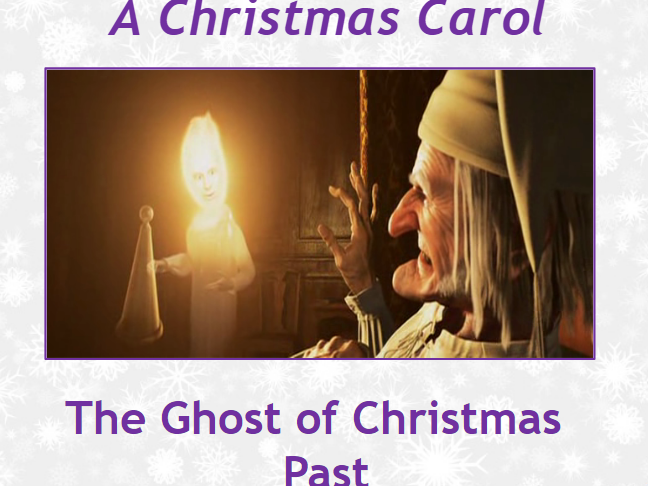 A Christmas Carol Lessons - Whole of Stave 2 Ghost of Christmas Past - 3x Complete lessons