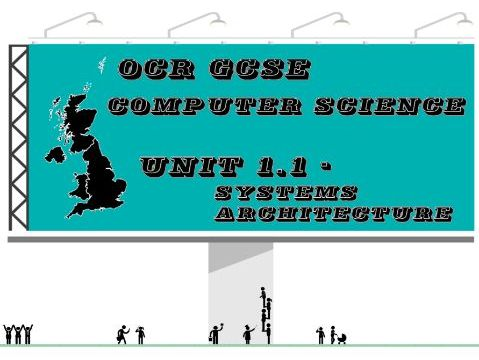 OCR GCSE Computer Science Unit 1.1 Systems Architecture (Concept map)