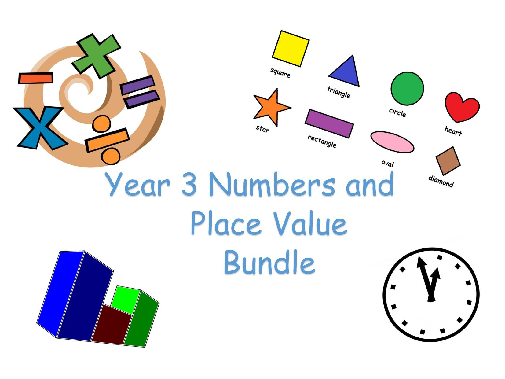 Y3 Maths - Number and Place Value Bundle