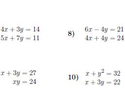 Algebra Bundle 2 (5 worksheets with solutions)