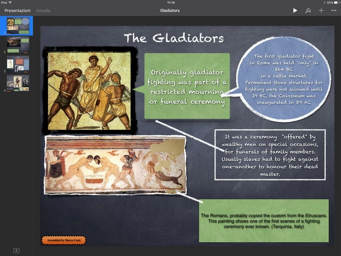 Ancient Rome The Gladiators Complete Lesson Presentation and video