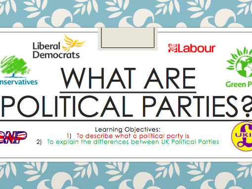 Political Parties and Government CPSHE