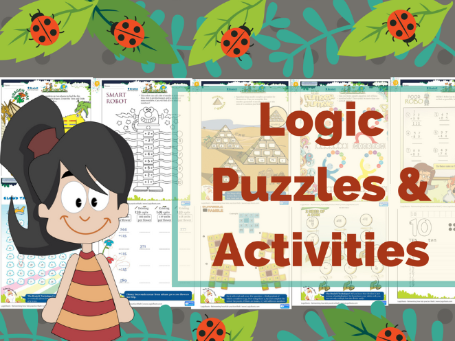 Logic Puzzles and Brain Teasers math Worksheets