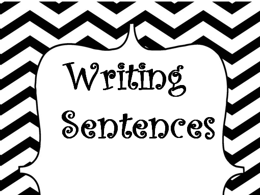 CVC Words Writing Sentence Worksheets for Kindergarten: