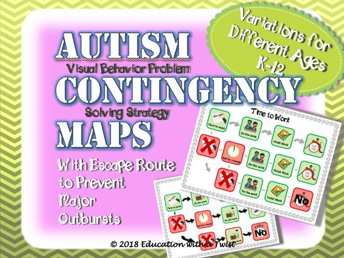 Autism Contingency Maps