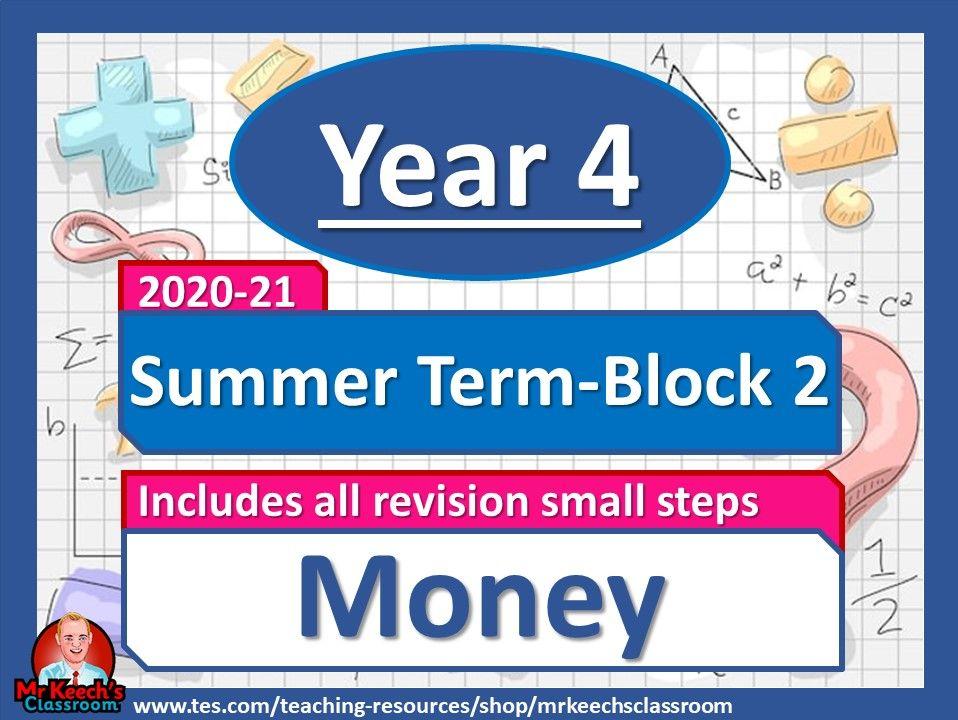 Year 4 - Money - Summer Block 2 - White Rose Maths