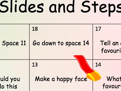 Slides and Steps SEND board game KS1 and KS2