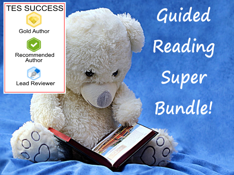 Guided Reading Worksheets Bundle