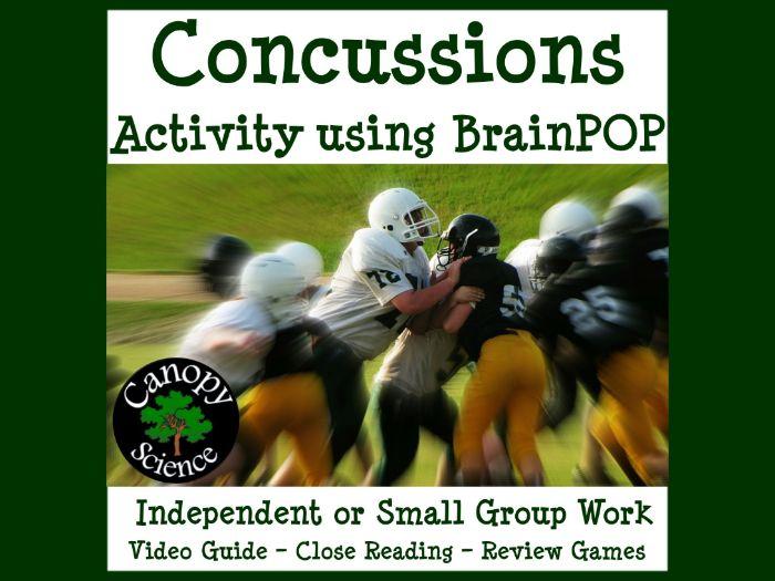 Concussions Activity using BrainPOP