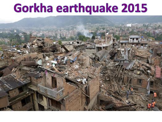 KS3 Natural Hazards - Gorkha earthquake 2015