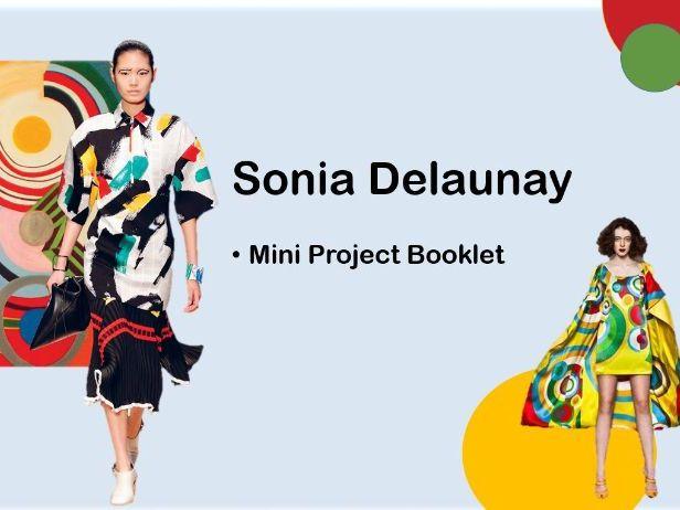 Sonia Delaunay Mini Project KS3 Textiles Booklet