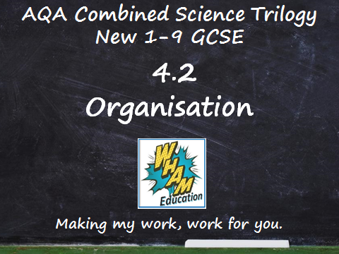 AQA Combined Science Trilogy: 4.2 Organisation