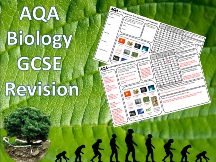 4.7.1 Adaptations, Interdependence and Competition - NEW AQA Trilogy (Biology) Revision with Answers