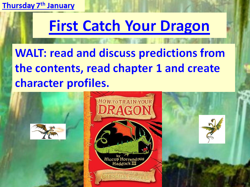 How To Train Your Dragon Complete Scheme of Work 15% Discount