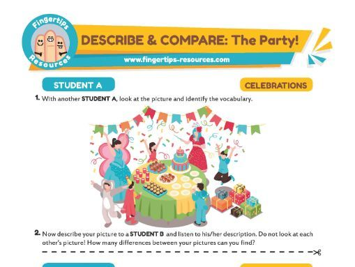 DESCRIBE & COMPARE: The Party!
