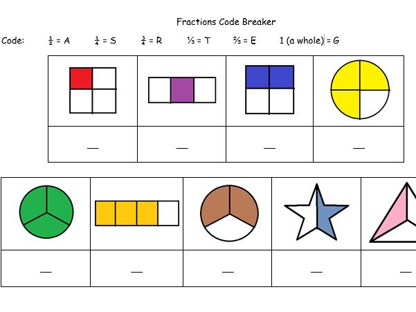 Fractions code breaker