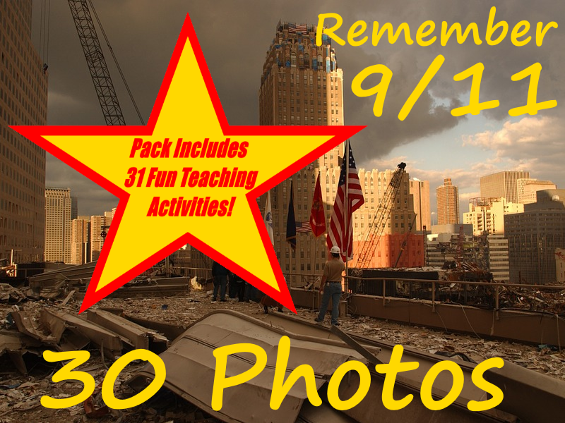 Remember 9/11 - PowerPoint and 31 Great Ways To Use This Teaching Resource In The Classroom