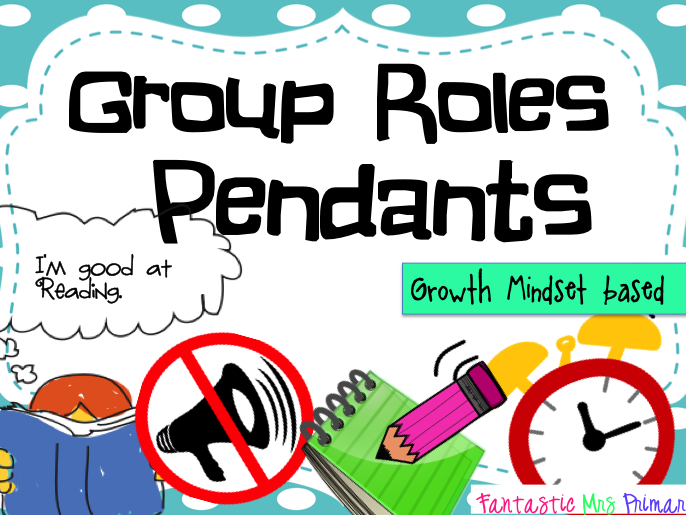 Group Roles Pendants