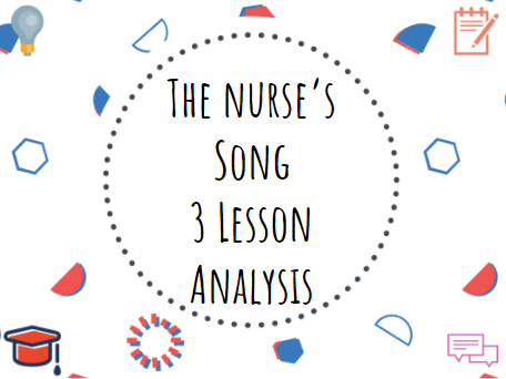 The Nurse's Song William Blake Year 7 Romantic Poetry #Romanticism #Poetry #English