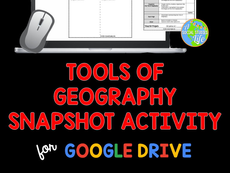Tools of Geography Snapshot Activity