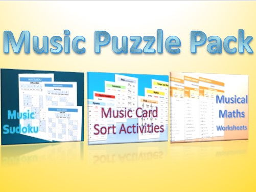 Music Puzzle Pack
