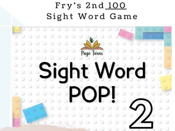 Fry's 2nd 100 Sight Words PPT Game [2]