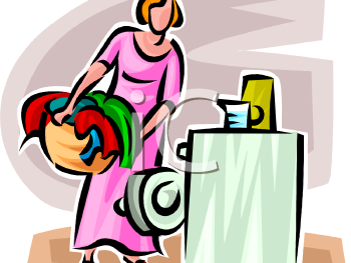 Madame Mopple et Le Linge Perdu - Mrs Mopple & The Lost Washing Story