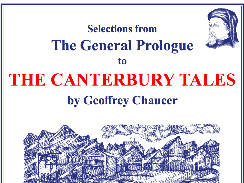 Chaucer Canterbury Tales Scheme of Work