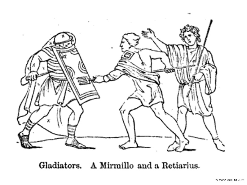 Ancient Romans colouring pages