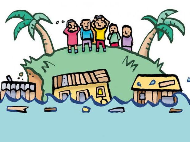 Think global- act local, Impacts of global warming, Global warming induced flooding in Bangladesh