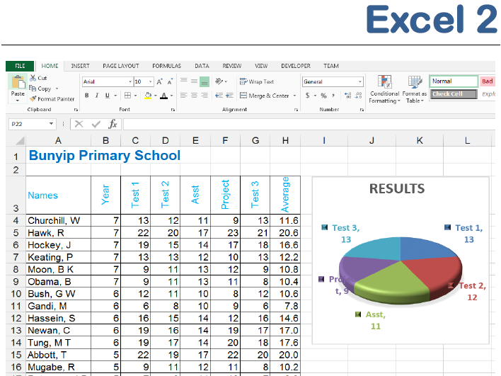 Excel 2013 2