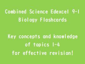 GCSE Biology Edexcel 9-1 Flashcards