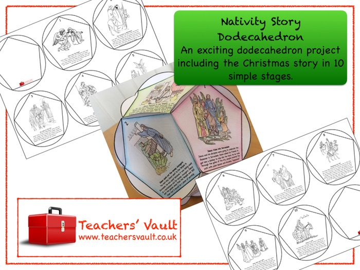 Nativity Story Dodecahedron