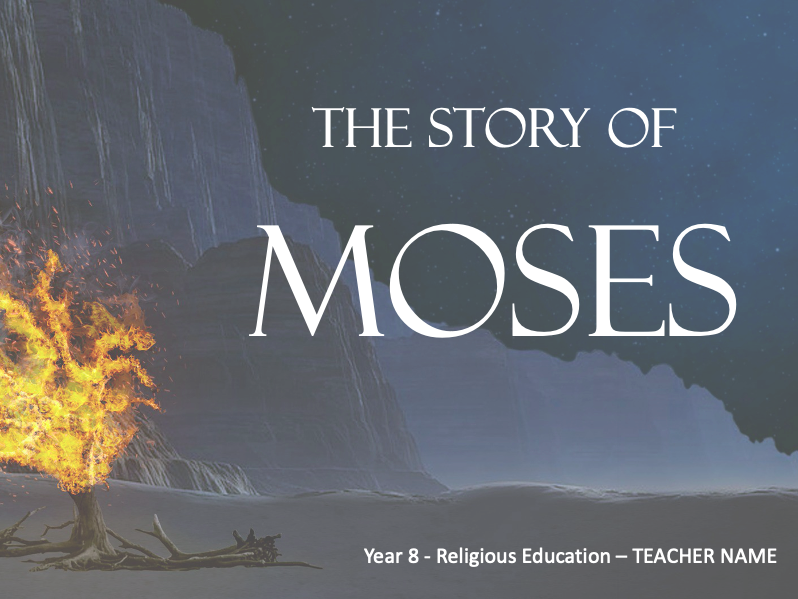 STORY OF MOSES - Lessons 8 to 11 - 4+HOURS
