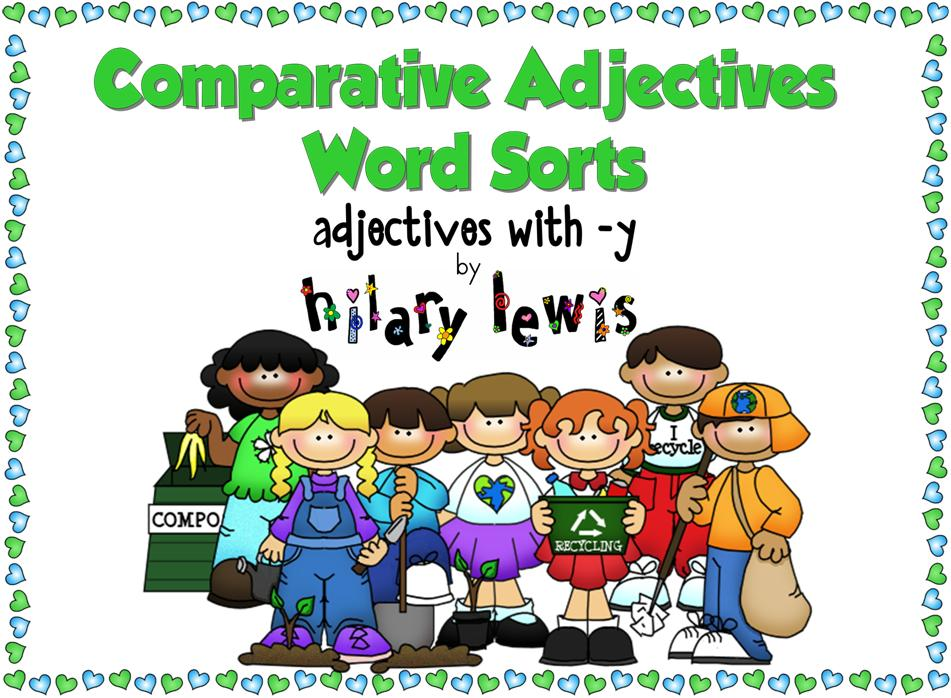 Comparative and Superlative Adjectives with -y - Word Sorts