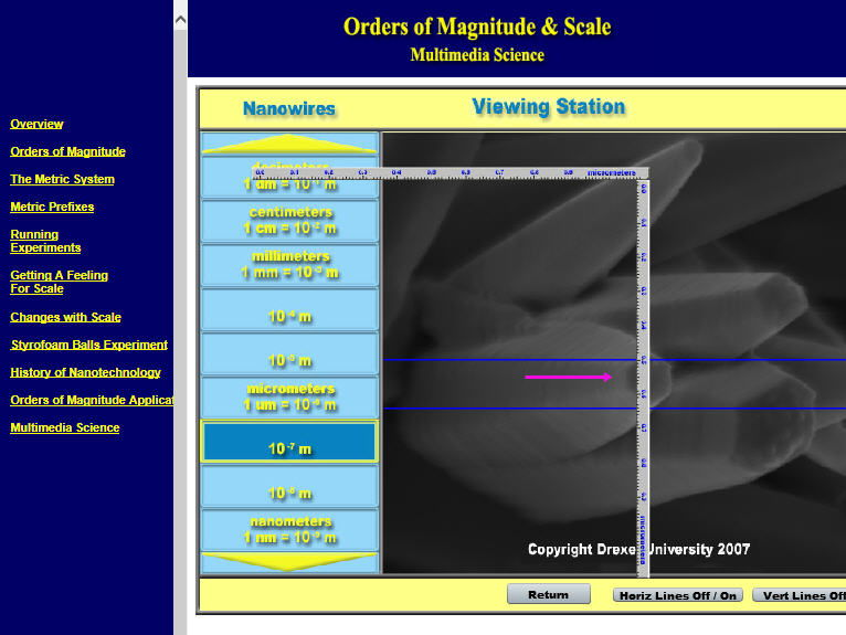 Science - Orders of Magnitude & Scale - PC & MAC Flash Version