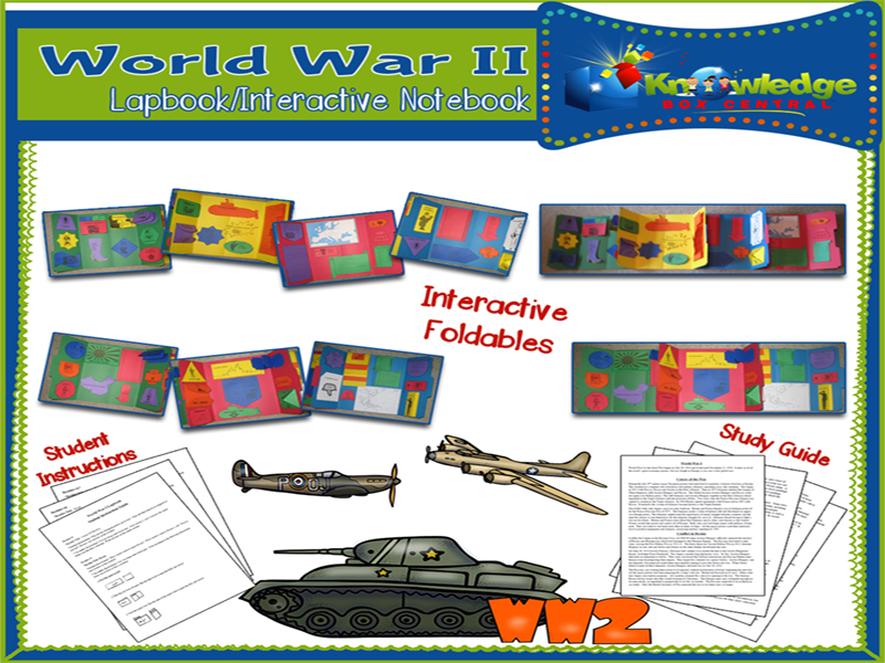 World War II Lapbook
