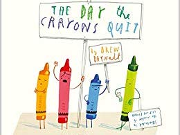 One week writing plan inspired by The Day the Crayons Quit