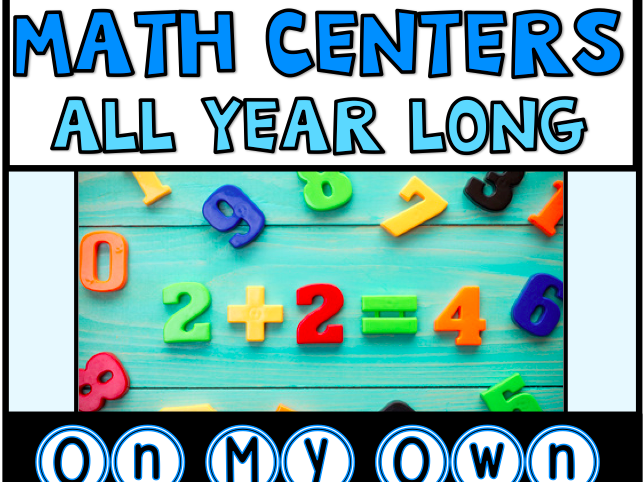 Maths Centres Bundle