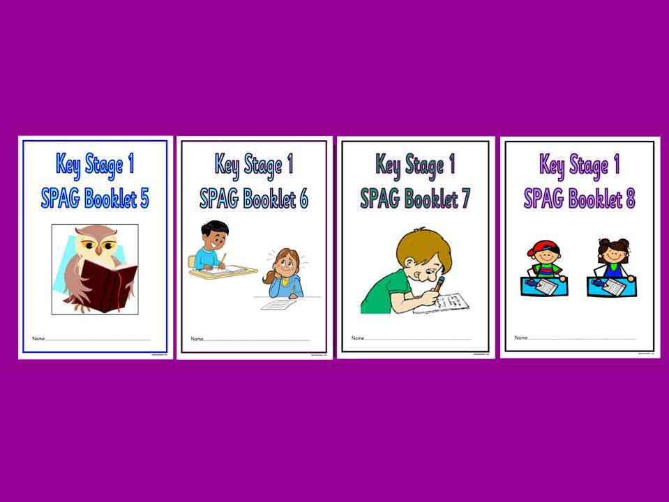 KS1 SPaG Booklet, Bundle 2