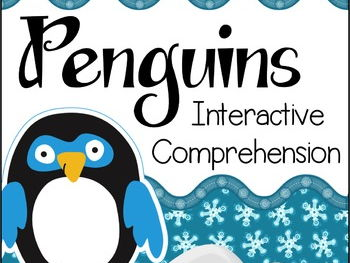 Penguins Interactive Reading Comprehension Activity Book