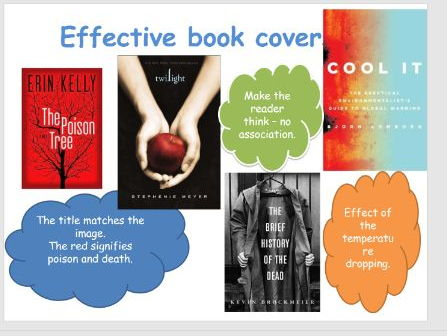 Create a book cover and blurb