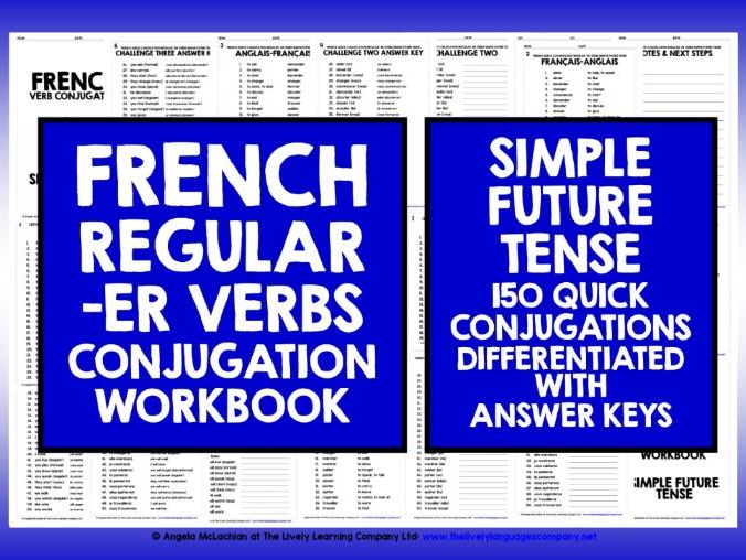 FRENCH SIMPLE FUTURE -ER VERBS