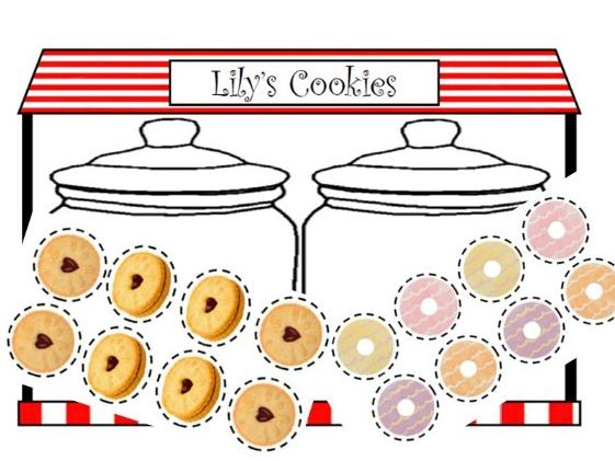 Cookie Jar Strategy Game - Counting and Critical Thinking for Early Years