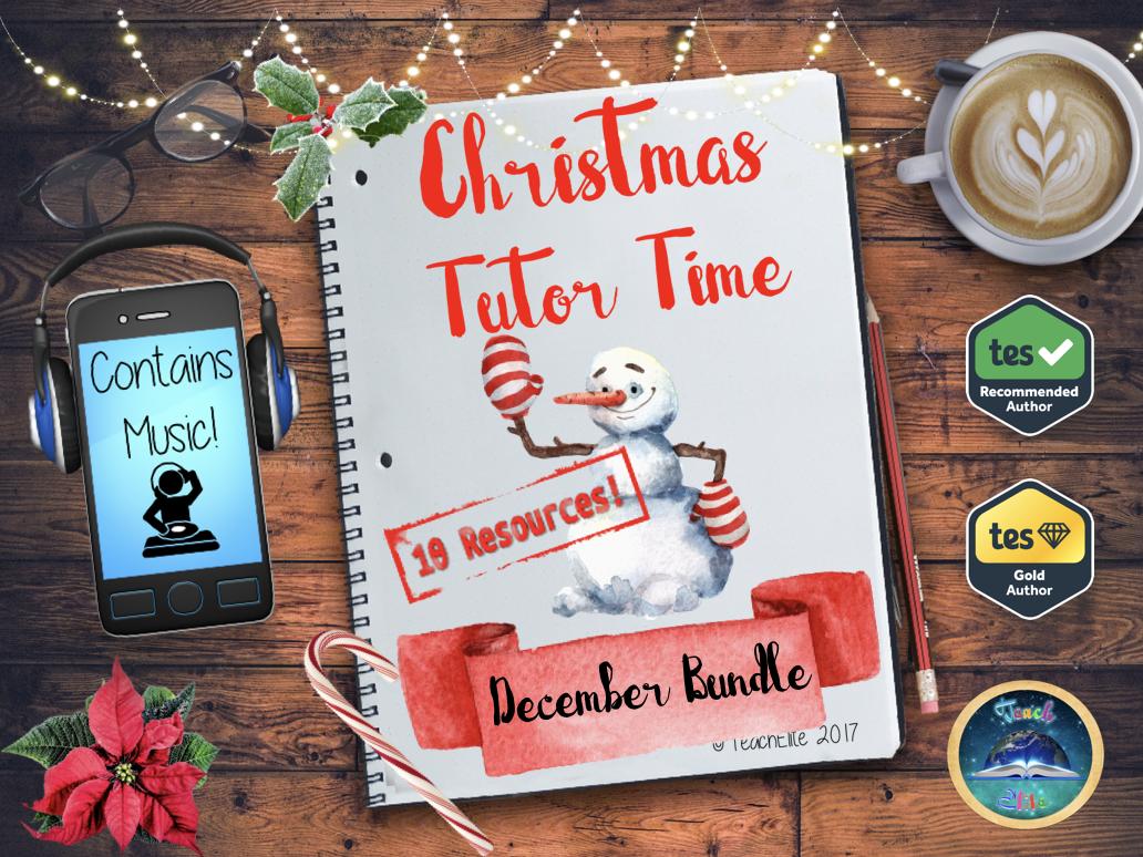 Christmas: December Tutor Time Bundle