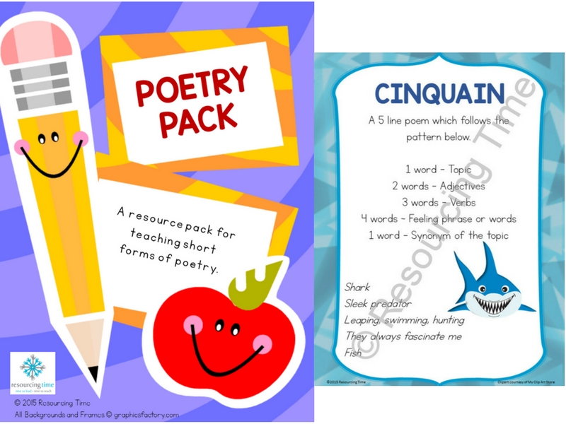 Poetry Poster Pack