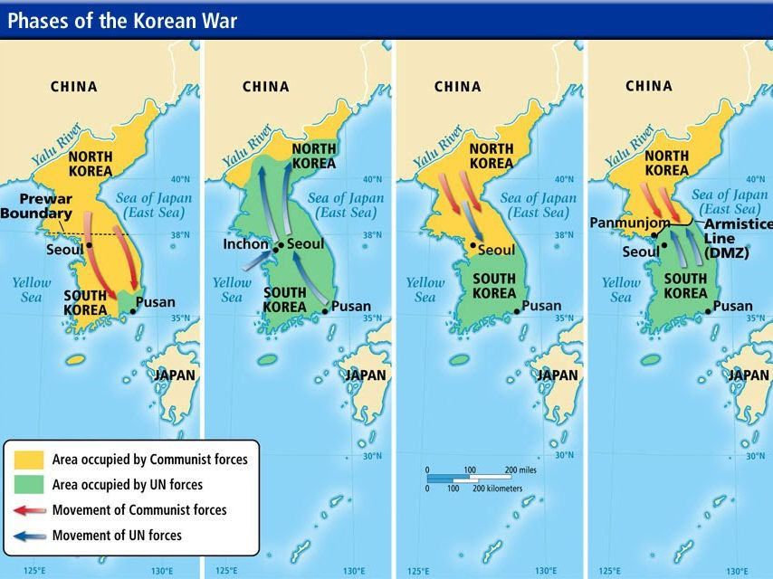 Korean War (Revision Activity)