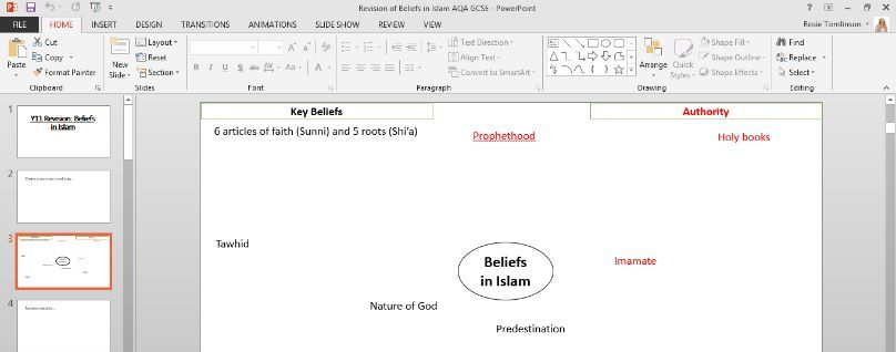 AQA GCSE Revision of the Beliefs in Islam Unit