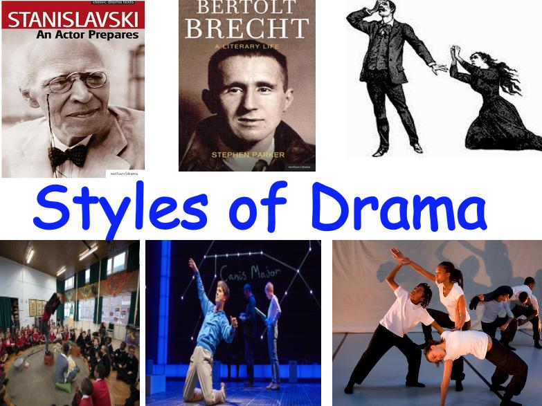 Styles of Drama KS3/KS4 Drama scheme of work