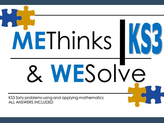 60 KS3 challenges using & applying maths